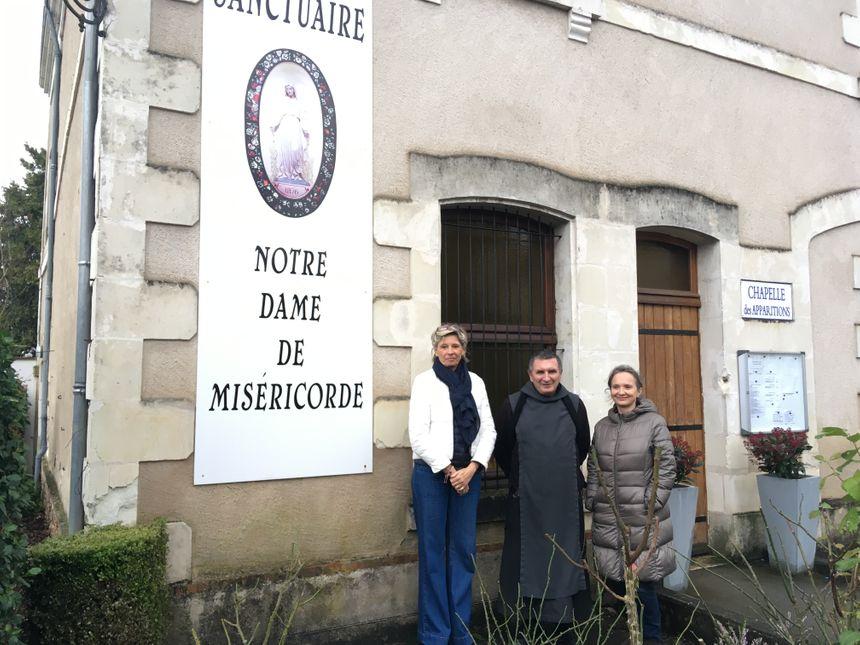 Le Sanctuaire Notre-Dame de Miséricorde, à Pellevoisin, accueille tous les ans des personnes qui souhaitent passer les fêtes de manière plus spirituelle.