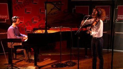 """Yilian Cañizares et Daniel Stawinski interprètent """"Beroni Abebe Osun"""""""
