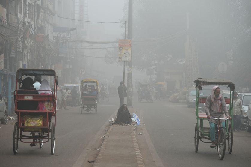 Le 8 novembre dernier, Delhi a fermé toutes les écoles primaires à cause des niveaux de pollution, près de 30 fois plus élevés que le niveau de sécurité de l'Organisation mondiale de la Santé.