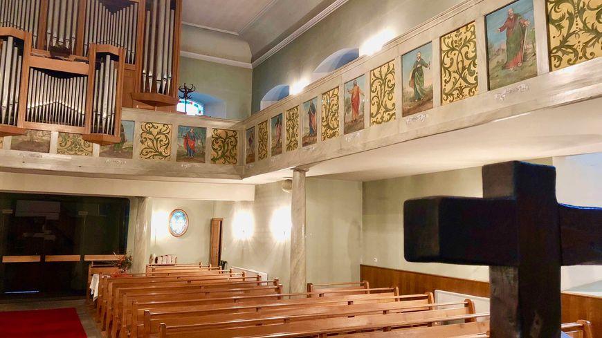 Diemeringen, peintures de l'église