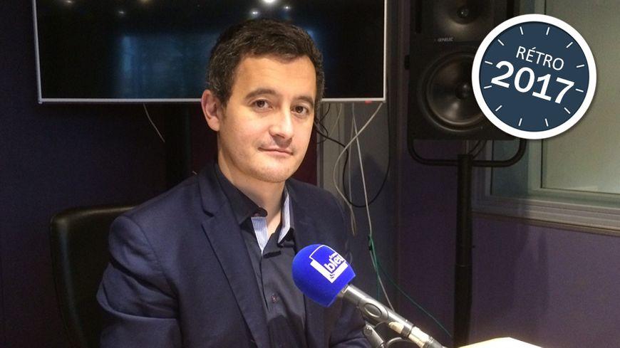 Gérald Darmanin, ancien maire de Tourcoing, devenu ministre de l'action et des comptes publics en 2017