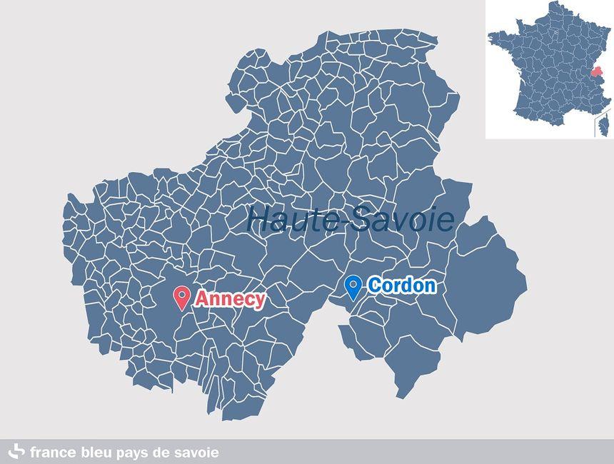 Cordon, en Haute-Savoie