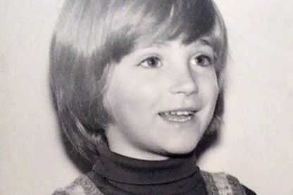 Frédéric Martin à 6 ans