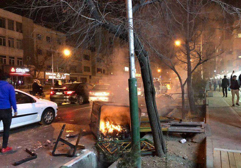Manifestations anti-gouvernementales en Iran