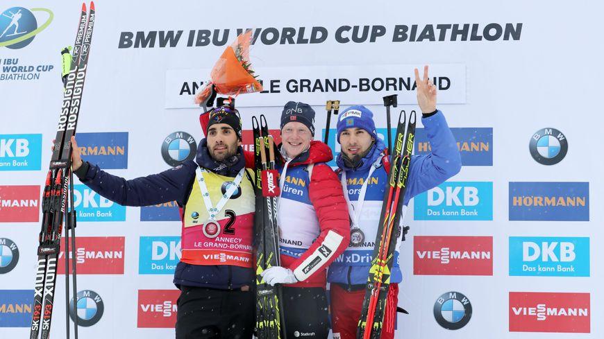 Martin Fourcade une nouvelle fois 2ème derrière le norvégien J.Boe