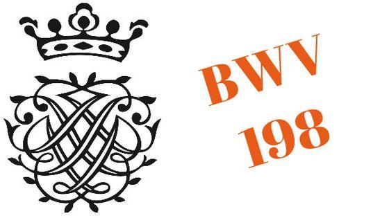 Monogramme de Bach - BWV 198