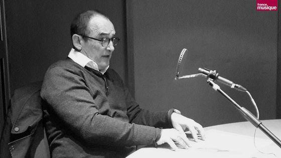 Roland Hayrabédian eu micro de Bruno Letort au studio 151