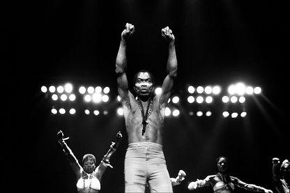 Fela Anikulapo Kuti au Orchestra Hall (Detroit, Michigan), le 7 novembre 1986