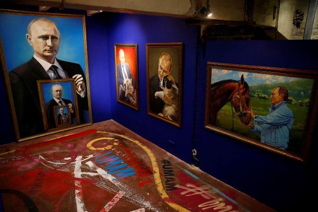 L'exposition SUPERPOUTINE au musée UMAM à Moscou, jusqu'au 15 janvier.