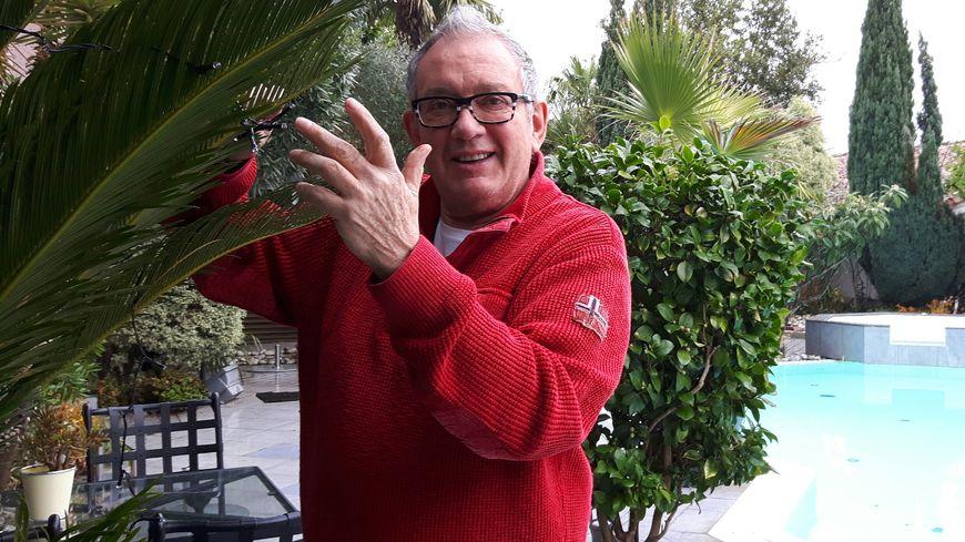 Patrick Malvaës, patron de l'hôtel-restaurant La Guérinière