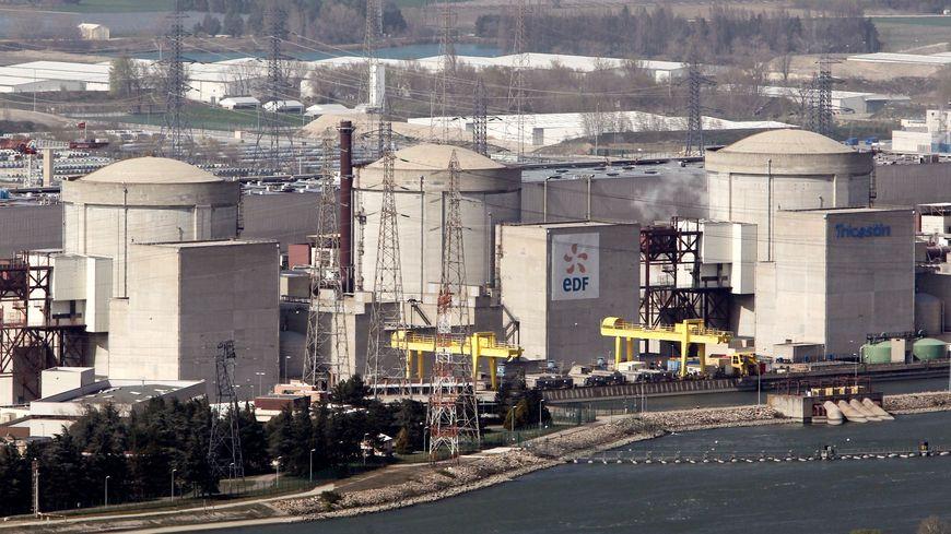 Centrale nucléaire du Tricastin (Drôme)