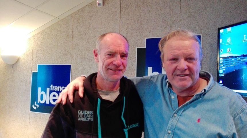 Bruno Talec et Robert Rabagny