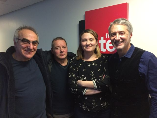 Liberatore, Jacques Sirgent, Charline et Antoine