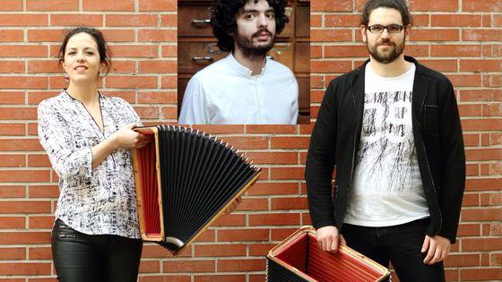 le duo Xamp par Justine Vicens et Julien Malaussena par Quentin Carnicelli