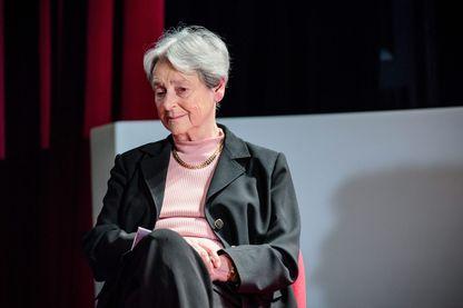 Dominique Schnapper, sociologue, le 4 avril 2016 à Paris.