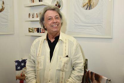 Hervé Villard en 2016 à la Galerie Dupin