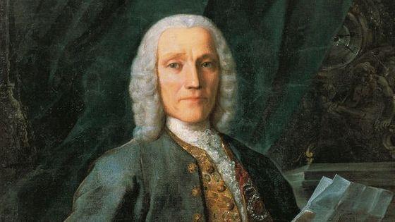 Portrait de Domenico Scarlatti (1685 -1757)
