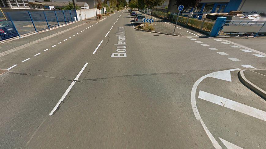 L'accident a eu lieu vendredi vers 18 au niveau du 2, boulevard d'Anvaux à Châteauroux.
