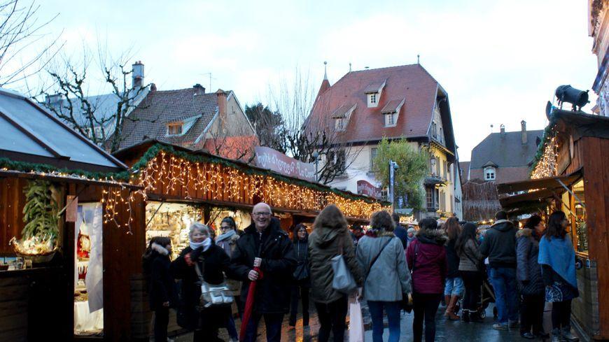 Le marché de Noël de Montbéliard restera ouvert jusqu'au 24 décembre