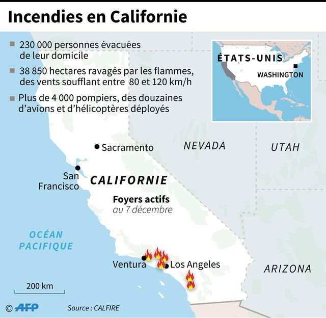 La situation en Californie