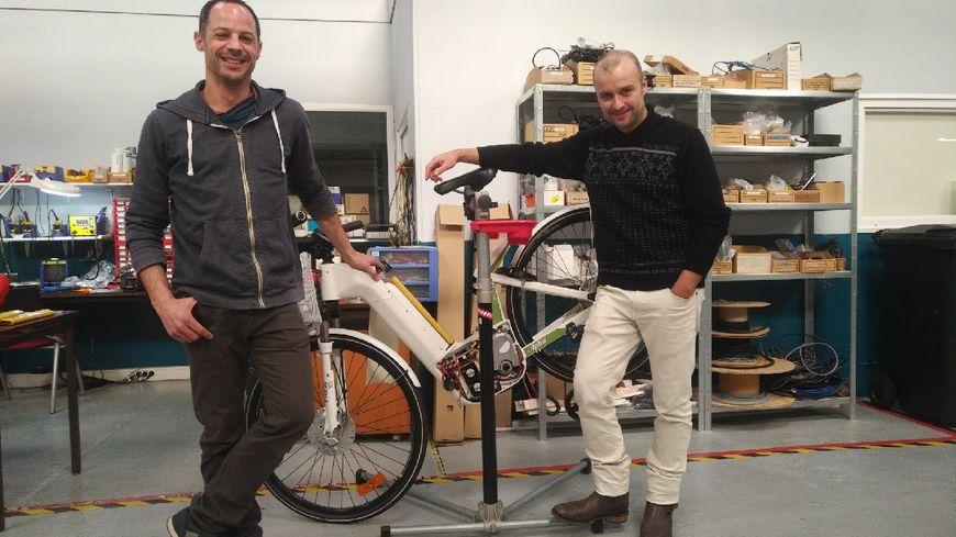 Rémi Succoja (à gauche) et Pierre Forte (à droite), co-fondateurs de Pragma Industries