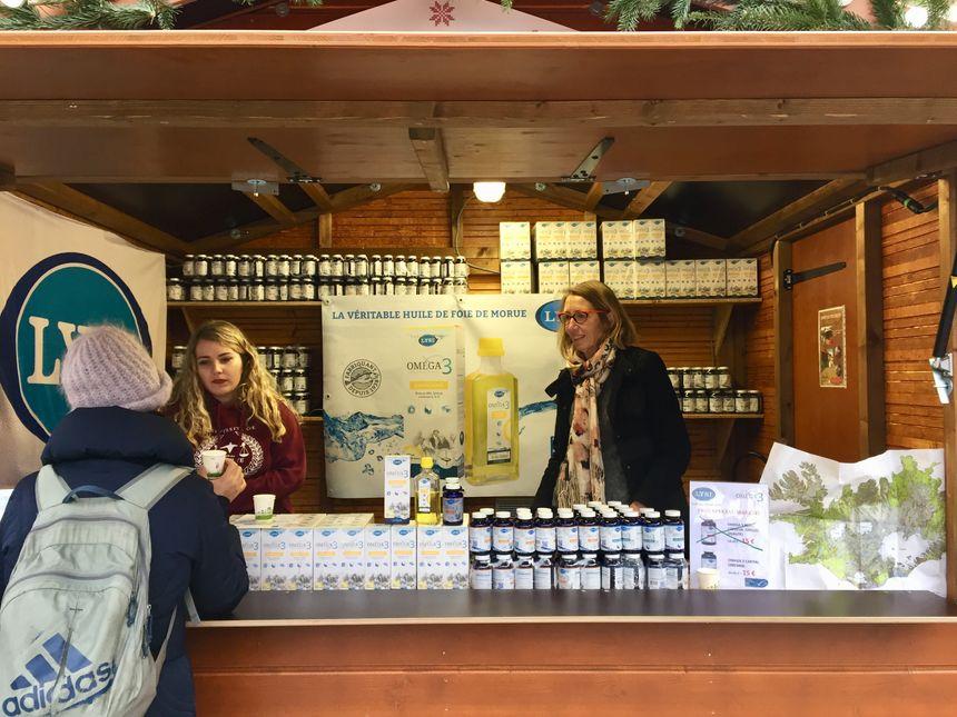 Chaque jour plus de mille bouteilles d'huile de foie de morue sont vendues