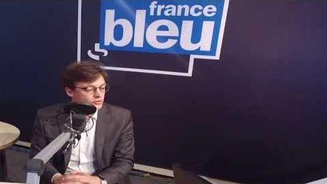 Sacha Houlié dans les studios de FB Poitou