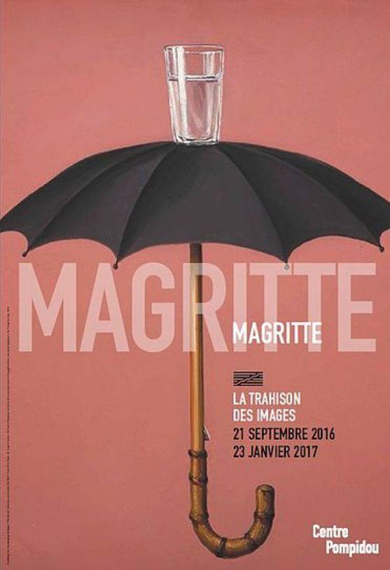 Exposition : MAGRITTE, La trahison des images - Centre Pompidou : 21 septembre 2016 / 23 janvier 2017