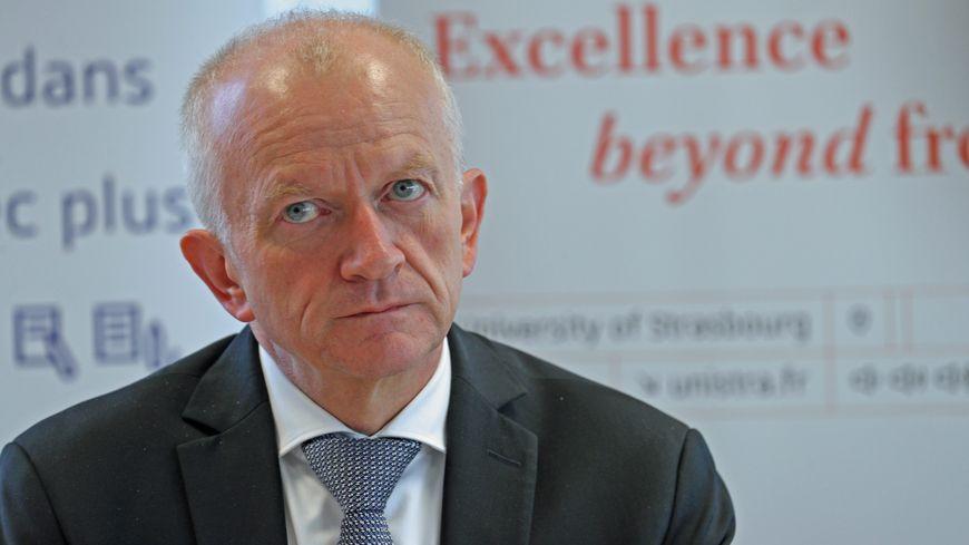Michel Deneken, le président de l'Université de Strasbourg