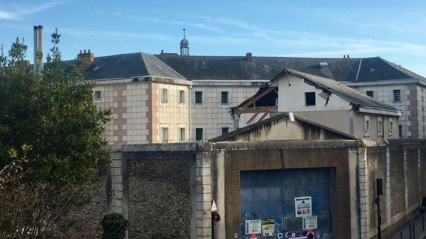 La phase de démolition a commencé fin novembre.