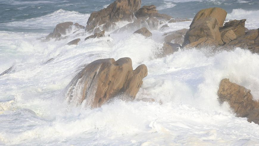 L'océan sera agité jusqu'à la fin de la semaine (photo d'illustration)