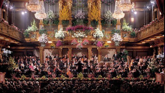 Grande Salle du Musiverein de Vienne