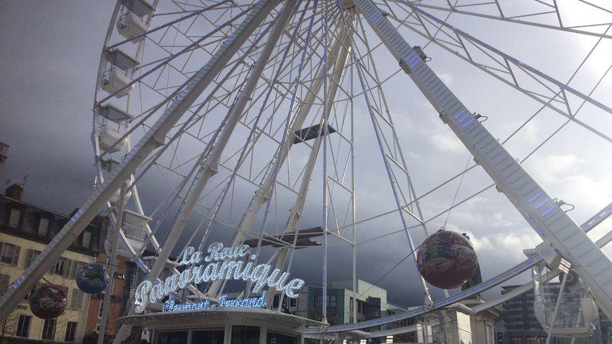 La Roue Panoramique a ouvert à midi ce samedi