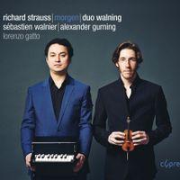 Morgen op 27 n°4 TrV 170 n°4 - arrangement pour violon violoncelle et piano - Sebastien Walnier