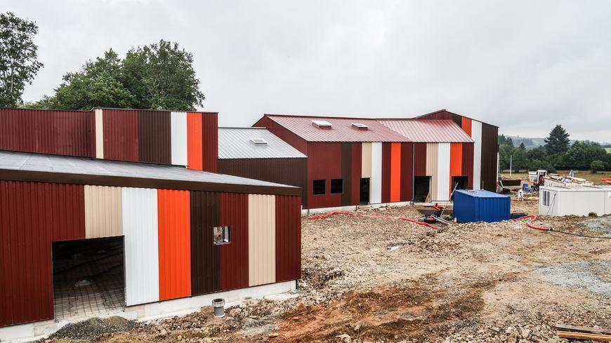 L'abattoir est en chantier à Bourganeuf. Il doit ouvrir au début de l'été prochain