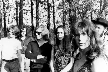 Amon Düül II, groupe allemand de Krautrock, fondé en 1969