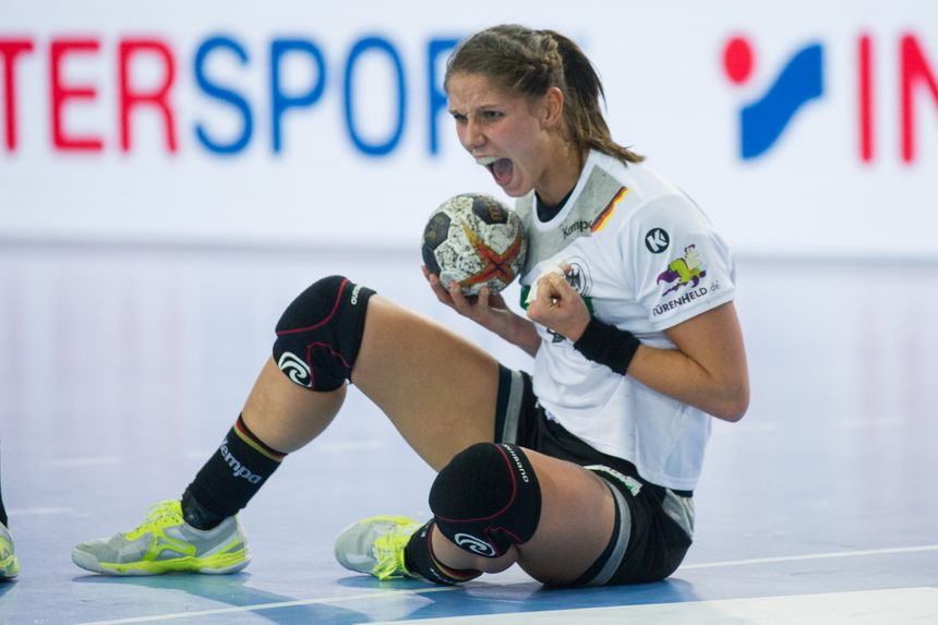 L'internationale Allemande de Metz Handball Xenia Smits