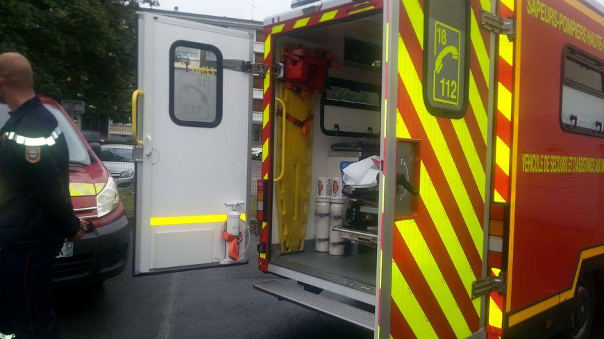 Les pompiers ont été appelés vers 7 h 40 ce dimanche matin pour un accident sur l'A 20
