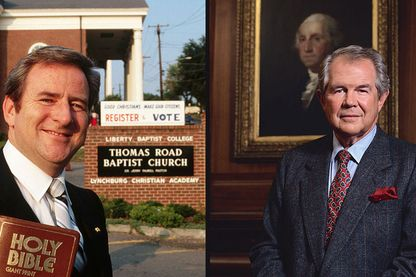 Jerry Falwell (1980) / Pat Robertson (1993)