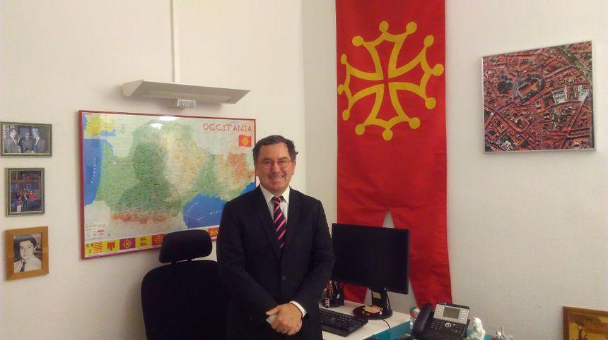 Bureau de Jean-Michel Lattes au Capitole à Toulouse