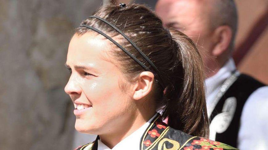 Caroline Larbère, écarteur de la course landaise.