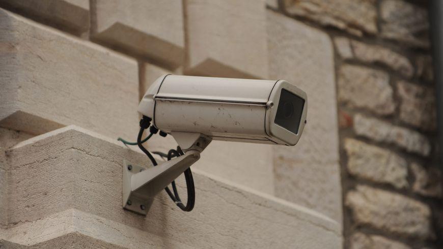 Une caméra de vidéoprotection (Illustration)