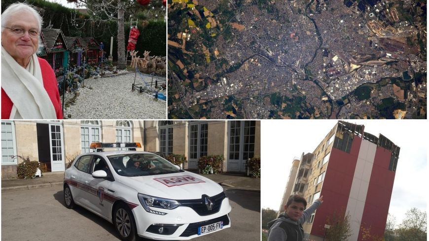 Le père Noël d'Allonnes, Le Mans vu du ciel par Thomas Pesquet, la voiture à PV automatiques et le petit Luidgi vous ont fait réagir cette année