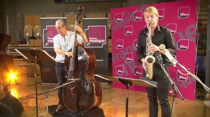 """Riccardo del Fra, Rémi Fox (saxophone) et Bruno Ruder (piano) interprètent """"But not for me / Oklahoma kid (medley)"""" extrait de l'album """"My Chet My Song"""". Enregistré le 1er octobre 2014 au studio 107 de la Maison de la Radio, dans le cadre de la """"Mati"""