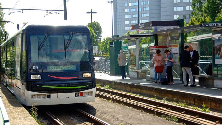 Le tramway de la métropole lilloise