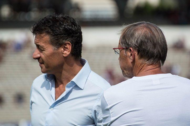 """A 62 ans, Jacques Brunel dit """"oui"""" à Laurent Marti et s'engage pour trois saisons."""