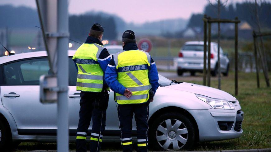 C'est lors d'un contrôle routier de gendarmerie que l'incident a eu lieu.
