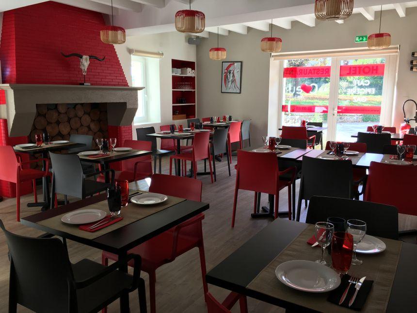Le restaurant du multiple à Gaillères.