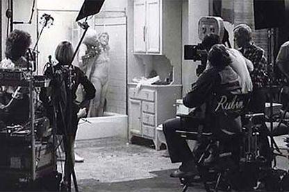 Brian de Palma sur le tournage de Body Double