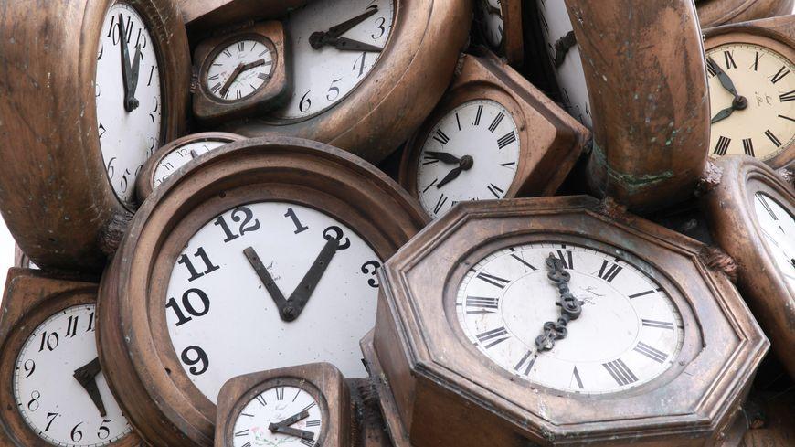 Un chronomètre pour mesurer le temps, c'est quand même plus précis que l'horloge de Saint-Lazare -Photo d'illustration
